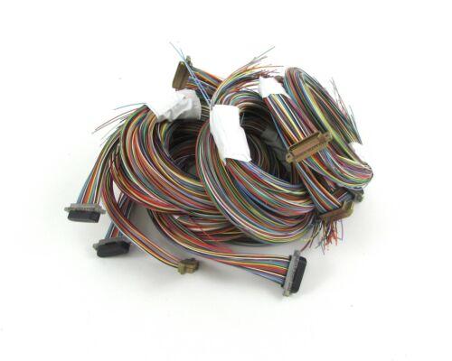 Glenair femelle M83513//04-G16C connecteur D-Sub Avec Câble Bundle 51 POS 3 rangée