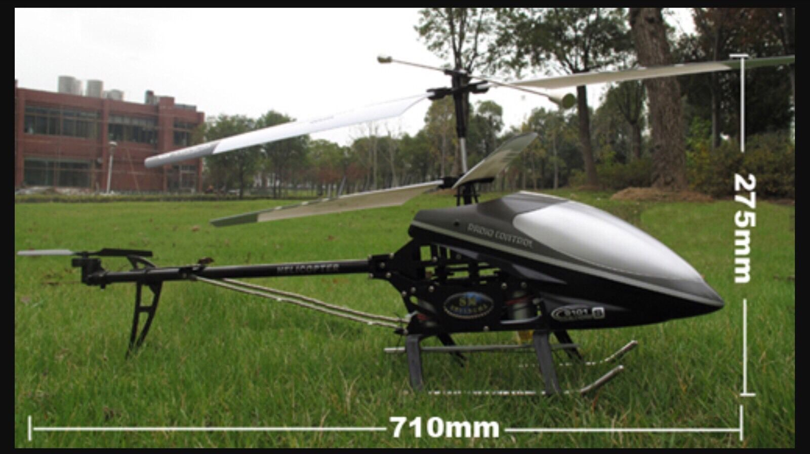 NEW DOUBLE HORSE 9101 3.5CH 3.5CH 3.5CH HUGE REMOTE CONTROL HELICOPTER BUILT IN GYRO NEW b76218
