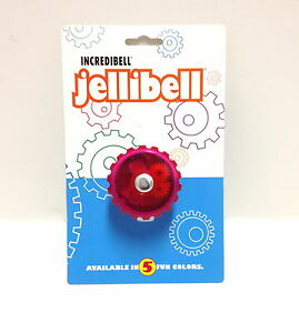 RED-FUSIA-MIRRYCLE-BICYCLE-BIKE-JELLIBELL-JELLY-BELL-ROTATING-FREE-SHIPPING-NEW