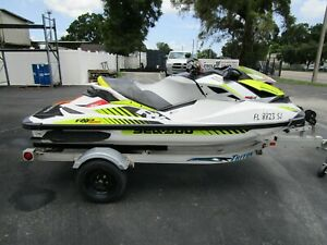 2016 Seadoo RXP-X 300 Super charge with trailer