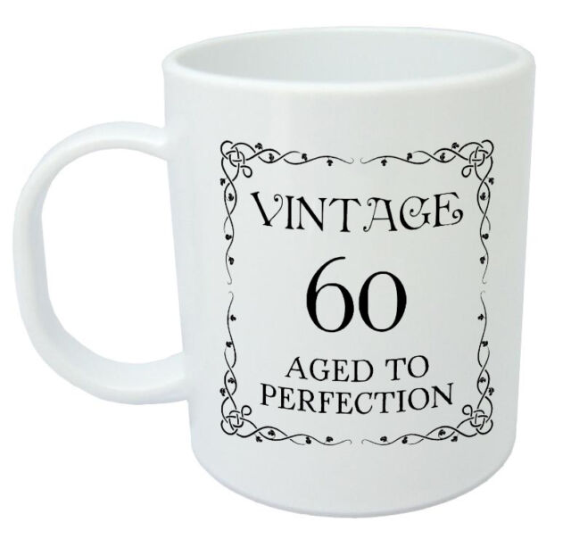 Vintage 60 Mug 60th Birthday Gift Presents For Men Women Ideas