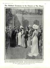 1909 Princess Juliana Christening Hague Bishops Stortford Prehistoric Horse