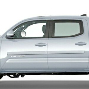 For: Toyota Tacoma Double Cab 2005-2022 Painted Body Side Moldings #FE2-TACDC