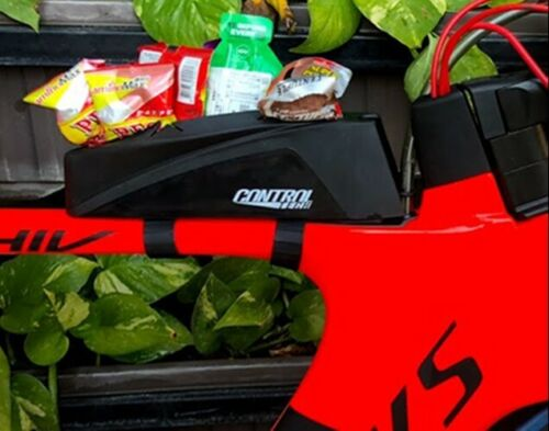 Triathlon TT Tri Power Unit CONTROLTECH Top Tube Storage Rubber Case bag Box
