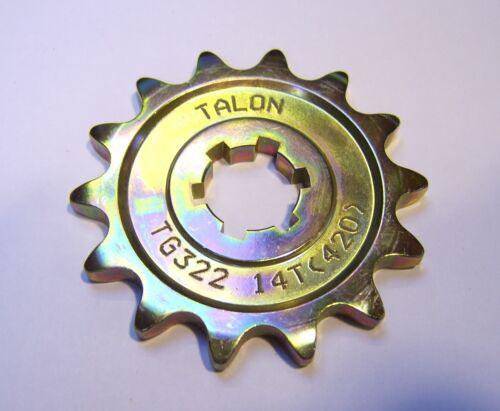 Talon Front Sprocket Kawasaki KX60 65 85 80 100 Quick Dispatch Sam 13 14 Tooth