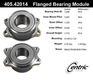 StopTech-Wheel-Bearing-and-Hub-Assembly-Rear-for-Infiniti-Nissan-405-42014