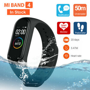 Xiaomi Mi Band 4 Smart Wristband Bracelet Watch OLED Touch Screen 50m Waterproof