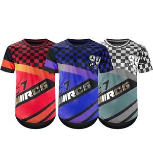 46ea66ace New Men Racing T-Shirt GT Jersey Exotic Short Sleeve Gold Foil Sizes ...