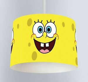 Spongebob squarepants 037 childrens bedroom drum lampshade light image is loading spongebob squarepants 037 childrens bedroom drum lampshade light aloadofball Choice Image