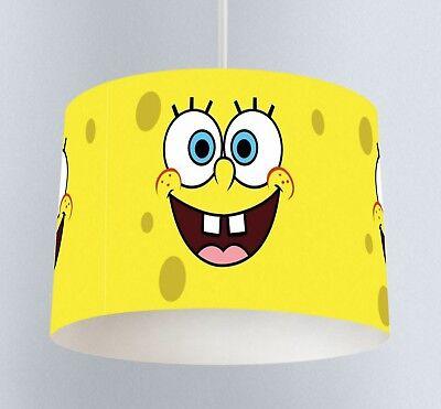 Spongebob Squarepants Fabric Children/'s Lamp Shade