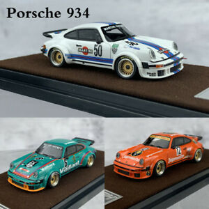 Limited-1-64-Resin-Car-Model-Porsche-934-Turbo-RSR-Martine-Jagermeister-Vaillant