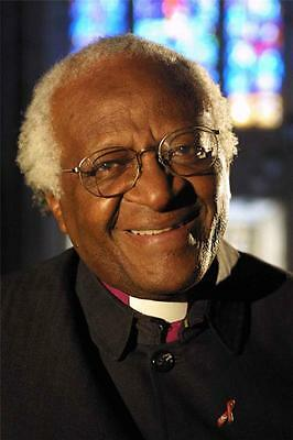 DESMOND TUTU GLOSSY POSTER PICTURE PHOTO south african anglican apartheid 855