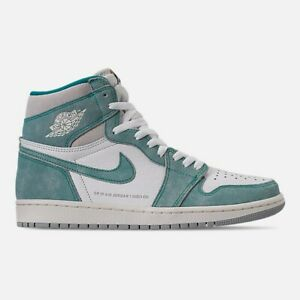 sneakers for cheap 970ed f73af Image is loading Air-Jordan-1-Retro-High-OG-Turbo-Green-