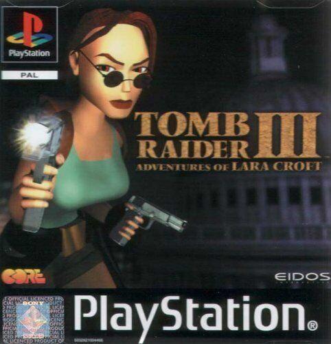 tomb raider ps1 disc