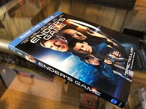Enders Game (Blu-ray/DVD) 2-Disc Set! Asa Butterfield ...