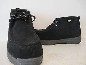 77372118c06 Details about Lugz Mens Frontier Moc Durabrush Casual Fashion Boots  Black/Charcoal Size 9