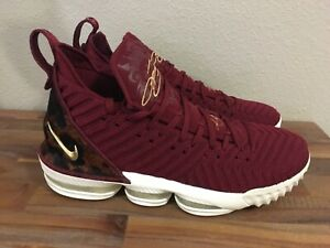 low priced 47244 be92e Details about Nike Lebron 16 XVI King. Team Red Gold. Animal Print.  AO2588-601 Men Size 12.5