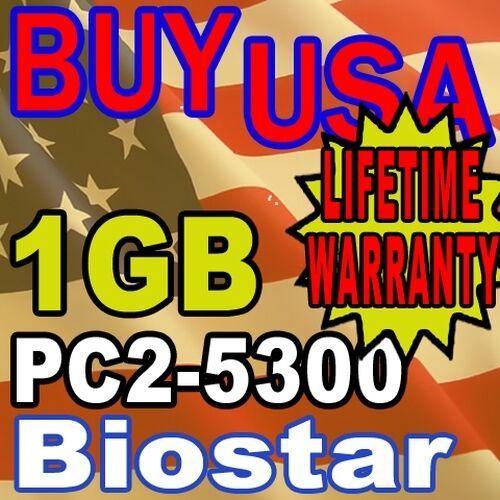1GB Biostar GF7050V-M7 I945P-A7 NF520-A2G Memory Ram