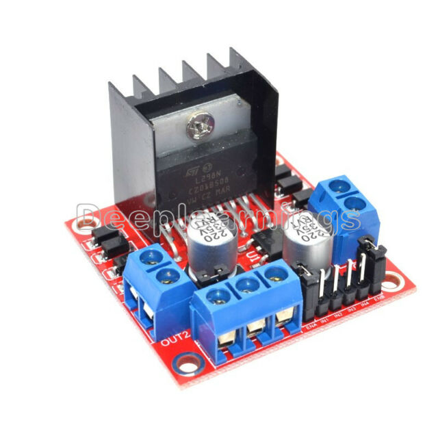 2pcs Dual H Bridge L298n PWM Stepper Motor Drive Controller Board Module Arduino for sale online