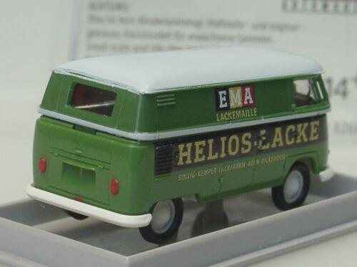 Kasten Brekina VW T1 HELIOS Lacke 32681-1:87