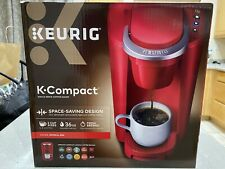 Keuring K-Cup Pod Coffee Maker Space Saver Compact Single Serve Machine NEW