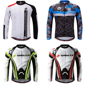 1c824034a28 Image is loading Mens-Cycling-Jersey-Outdoors-Wicking-Bike-Shirt-Breathable-