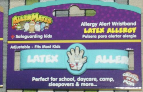 AllerMates Health Alert and Allergy Wristbands Bracelet ID Kids Children