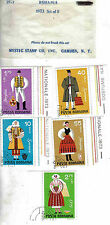Mystic Stamp Co. 1973 #10-1 Romania Set of Five National Costume Stamps MNH