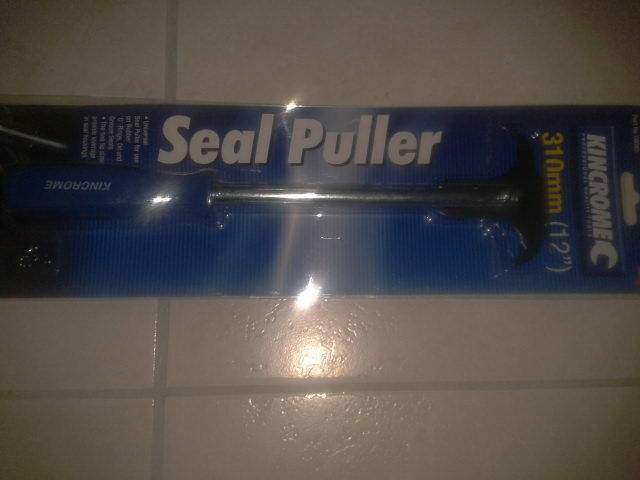 KINCROME OIL SEAL PULLER - PERFECT FOR REMOVING OIL SEALS, TRANSMISSION SEALS