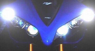 2 x 6 LED SUPER Park Lights R1 R6 GSXR SV650 SV1000 ZX6ZX10 ZX14 CBR 1000RR 675