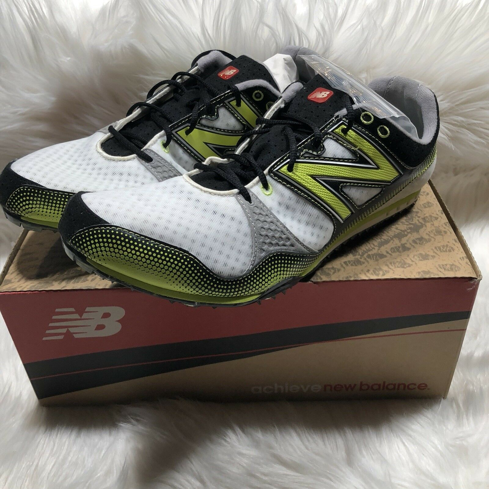 NEW Mens NEW BALANCE Field MR500NB Track n Field BALANCE Spike Shoe 13 M Running Course cd5df4