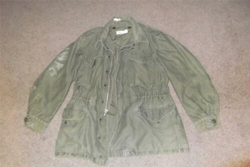 Military Medium Regular 19?? Fatigue M65 Field Jac