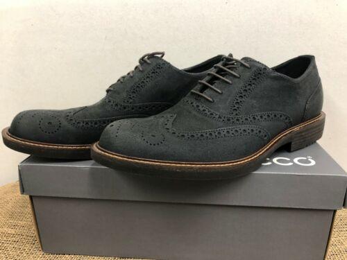NIB ECCO 512114 05001 Men/'s Kenton Oxford Black Casual
