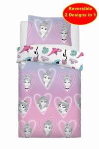 Copripiumino Principesse.Misto Cotone Principesse Disney Singolo Set Copripiumino Rosa Ebay