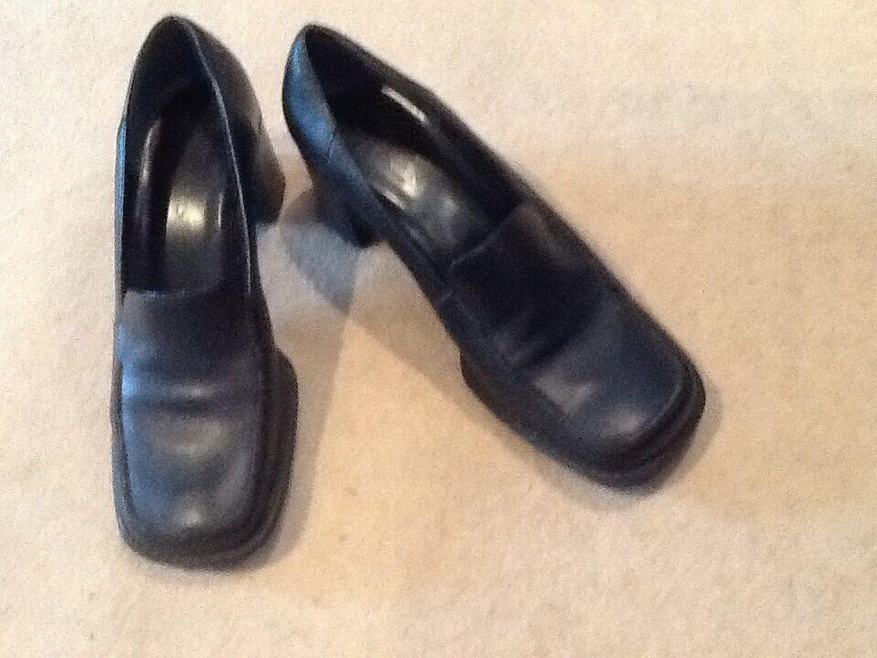 BLACK CARRANO (EU39) leather shoes size 6 (EU39) CARRANO e56fbe