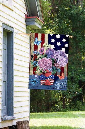 Morigins Patriotic Pansies Decorative Flower America Summer Garden Flag