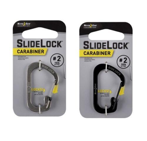 Nite ize slidelock mousqueton keychain, porte-clé, sac à dos, randonnée, escalade