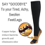 4-Pairs-Compression-20-30mmHg-Support-Socks-Relief-Miracle-Calf-Men-039-s-Women-039-s thumbnail 5