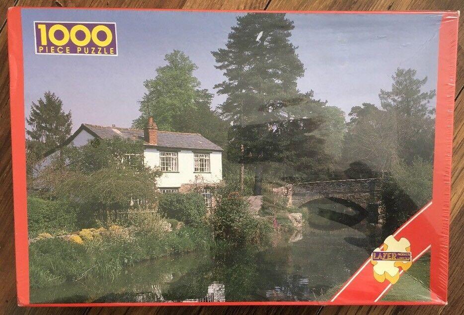 Puzzle 1000 pièces Eardisland Herefordshire Neuf Scellé par Lazer produits