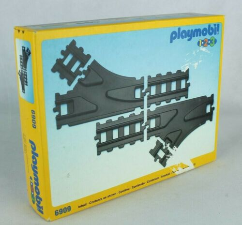 Playmobil 1-2-3 Train Track 6909  Train Tracks Collectable Vintage Track #6909