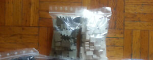 Boardgame Wood Components Lot Walls Factories Lotto 2 Colors New Board Game 30mm Avoir Un Style National Unique
