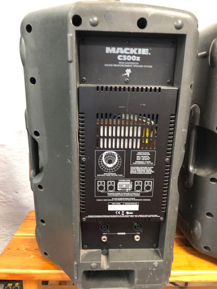 Passive speakers, Mackie C300Z