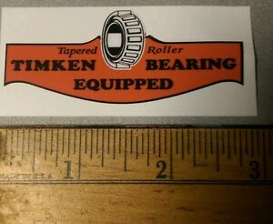 Timken-Tapered-Roller-Bearing-Vintage-early-Style-Decal-For-Gravely-Wisconsin-2
