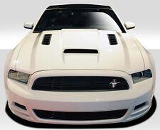 2013-2014 Ford Mustang / 2010-2014 Mustang GT500 Duraflex CV-X Hood-1PC Body Kit