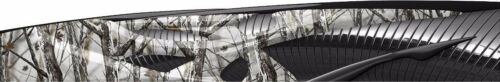 Crypsis camo go kart race car vinyl graphic decal half wrap