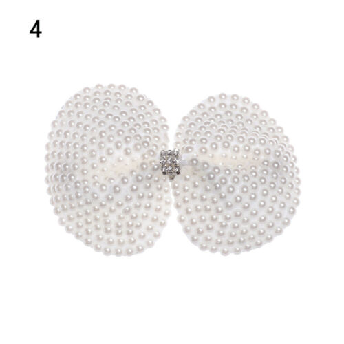 Hair Accessories Pearl Hair Bows Hair Clips Rhinestone Boutique Layers Bling