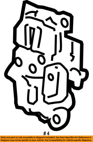 2008-2009 SUBURBAN YUKON XL AVALANCHE PASSENGER Rear Door-Lock Actuator 25876392