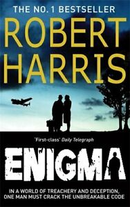 Enigma-by-Harris-Robert-Paperback-Book-The-Fast-Free-Shipping