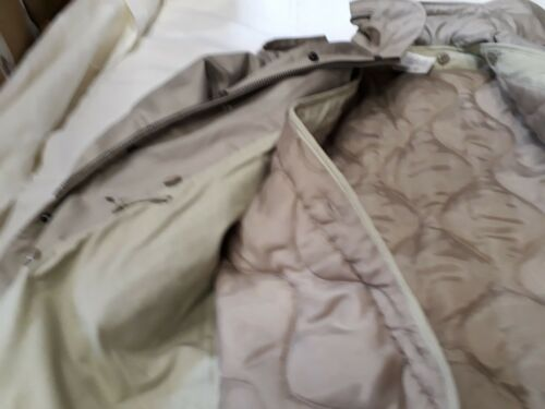 M Militare Parka 65 Americana Jacket Giacca M65 Beige Khaki Field Nuova xUBRIxaY