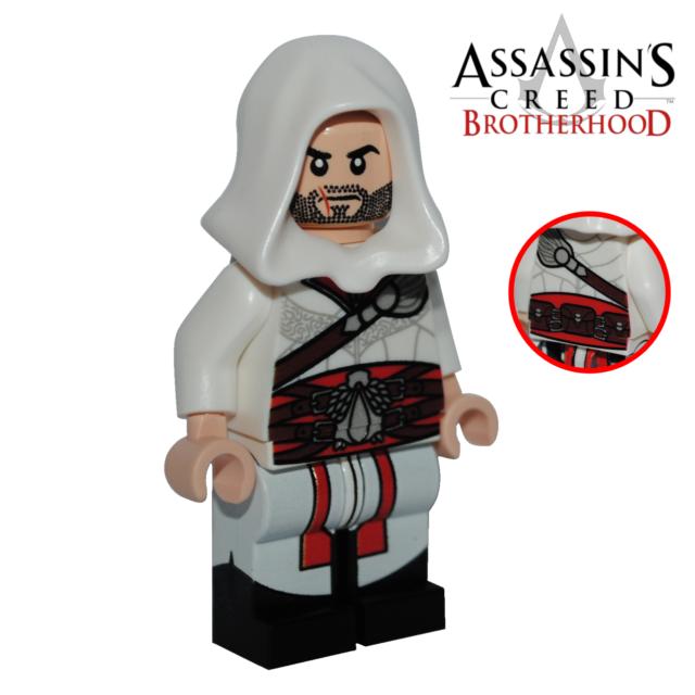 Lego Custom Printed Ezio Assassins Creed Brotherhood Ubisoft